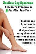Restless Leg Syndrome w/Audio